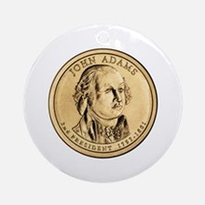 John Adams Ornament (Round)
