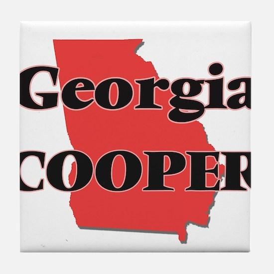 Georgia Cooper Tile Coaster