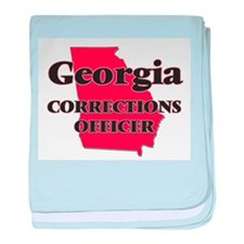 Georgia Corrections Officer baby blanket