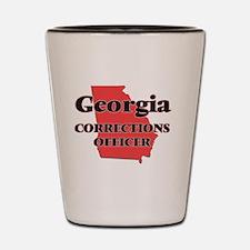 Georgia Corrections Officer Shot Glass