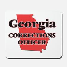 Georgia Corrections Officer Mousepad