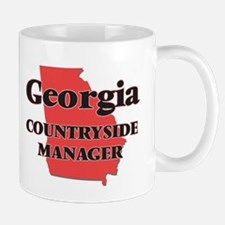 Georgia Countryside Manager Mugs