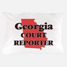 Georgia Court Reporter Pillow Case