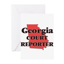 Georgia Court Reporter Greeting Cards