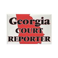 Georgia Court Reporter Magnets