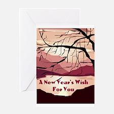 Jewish New Year's Wish Greeting Card