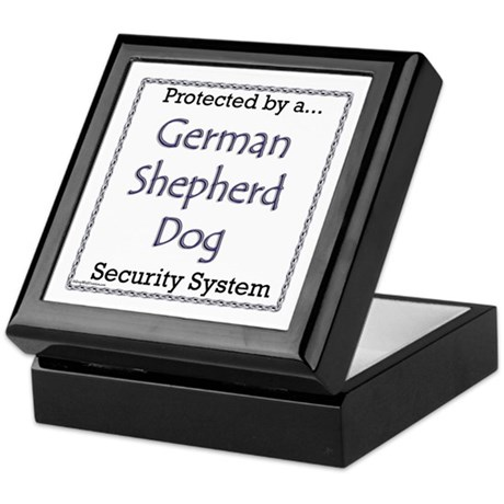 GSD Security Keepsake Box