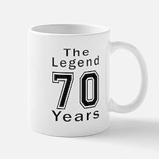 70 Legend Birthday Designs Mug