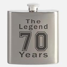 70 Legend Birthday Designs Flask