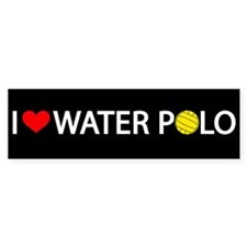 Love Water Polo Bumper Bumper Sticker