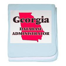 Georgia Database Administrator baby blanket