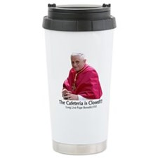 Funny Pope benedict Travel Mug