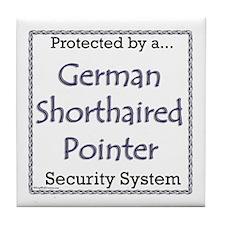 GSP Security Tile Coaster