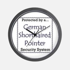 GSP Security Wall Clock