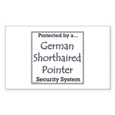 GSP Security Rectangle Decal