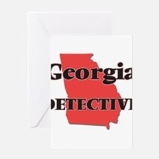 Georgia Detective Greeting Cards