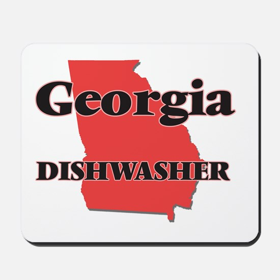 Georgia Dishwasher Mousepad