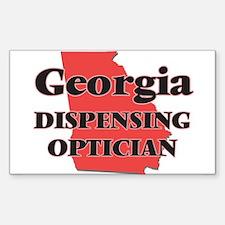 Georgia Dispensing Optician Decal