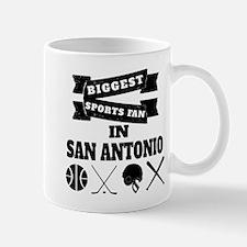 Biggest Sports Fan In San Antonio Mugs