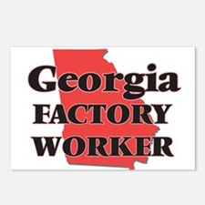 Georgia Factory Worker Postcards (Package of 8)