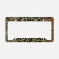 Beautiful, decorative clef License Plate Holder