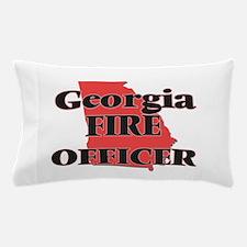 Georgia Fire Officer Pillow Case