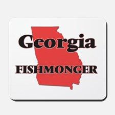 Georgia Fishmonger Mousepad