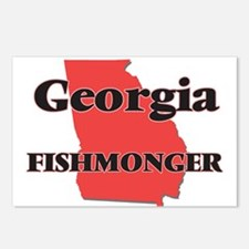 Georgia Fishmonger Postcards (Package of 8)