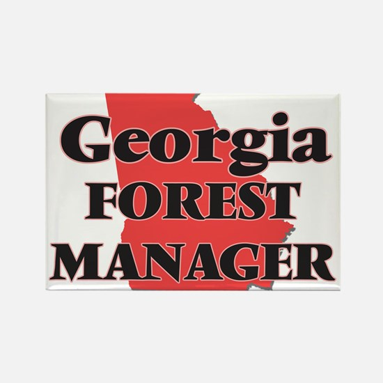 Georgia Forest Manager Magnets
