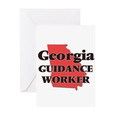 Georgia Guidance Worker Greeting Cards
