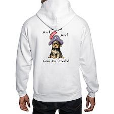 Yorkie Pirate Hoodie