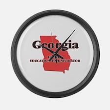 Georgia Higher Education Administ Large Wall Clock