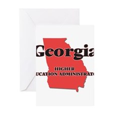 Georgia Higher Education Administra Greeting Cards