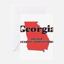 Georgia Higher Education Administra Greeting Cards