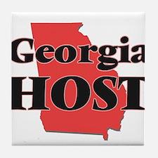 Georgia Host Tile Coaster