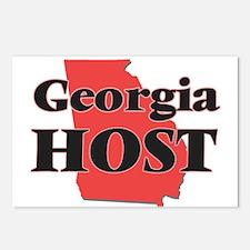 Georgia Host Postcards (Package of 8)