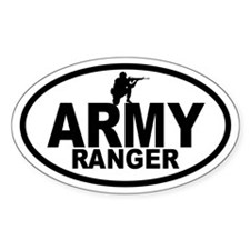 ARMY Ranger Oval Decal