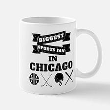 Biggest Sports Fan In Chicago Mugs