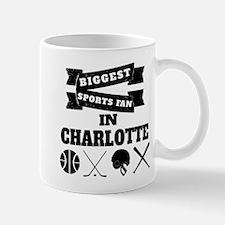 Biggest Sports Fan In Charlotte Mugs