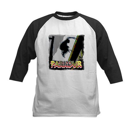 Parkour Kids Baseball Jersey