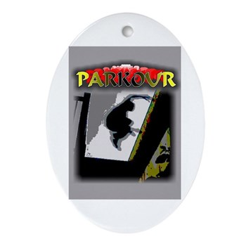 Parkour Ornament (Oval)