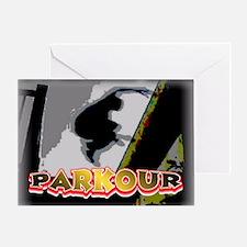Parkour Greeting Card