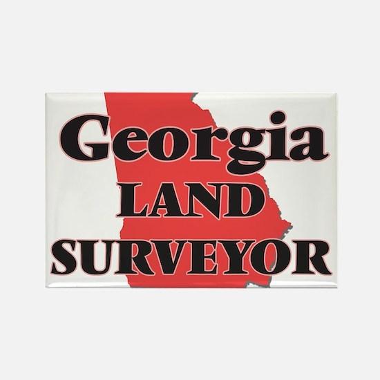 Georgia Land Surveyor Magnets