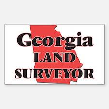 Georgia Land Surveyor Decal