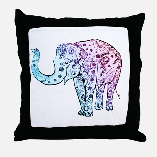 Funny Womens Throw Pillow