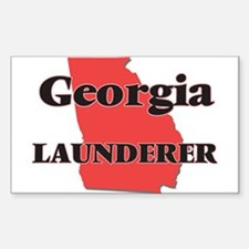 Georgia Launderer Decal