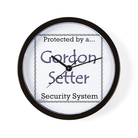 Gordon Security Wall Clock