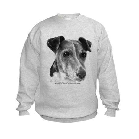 Smooth Fox Terrier Kids Sweatshirt