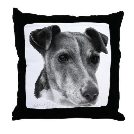 Smooth Fox Terrier Throw Pillow