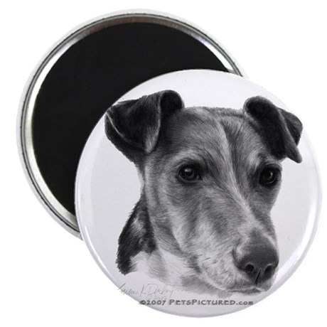 "Smooth Fox Terrier 2.25"" Magnet (100 pack)"
